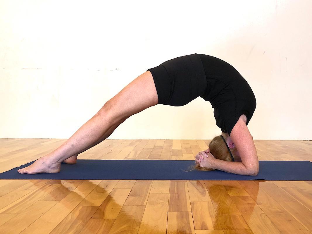 Dwi Pada Viparita Dandasana: Two-Legged Inverted Staff Pose